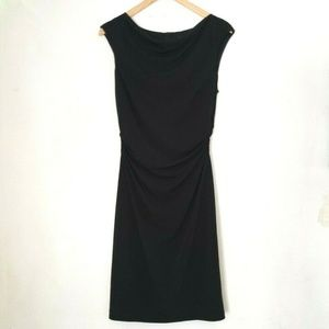 David Meister Ruched Sheath Dress
